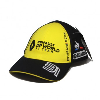 Renault F1 dětská čepice baseballová kšiltovka Ocon black F1 Team 2020