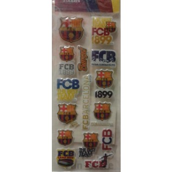 FC Barcelona malé samolepky