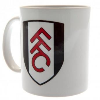 Fulham hrníček white logo