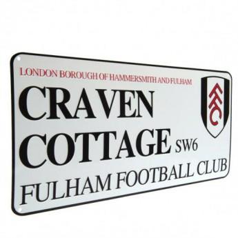 Fulham cedule na zeď Street Sign