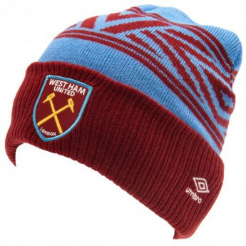 West Ham United zimní čepice Umbro Cuff Beanie