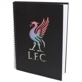 FC Liverpool blok/sešit A4 Ringbinder Notebook
