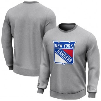 New York Rangers pánská mikina Iconic Primary Colour Logo Graphic Crew