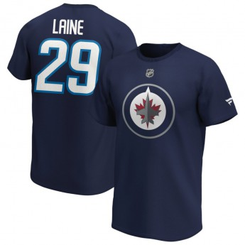 Winnipeg Jets pánské tričko Patrik Laine Iconic Name & Number Graphic