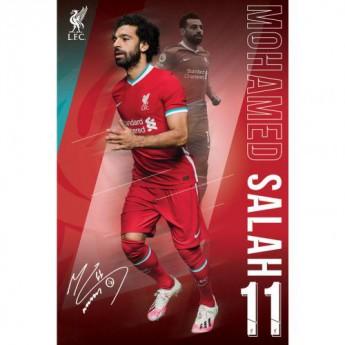 FC Liverpool plakát Salah 1