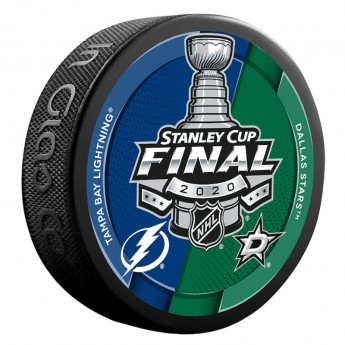 NHL produkty puk Dallas Stars vs. Tampa Bay Lightning Stanley Cup Final Bound Dueling Match-Up Hockey Puck