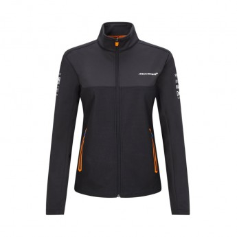 Mclaren Honda dámská bunda Softshell Black F1 Team 2021