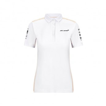 Mclaren Honda dámské polo tričko White F1 Team 2021