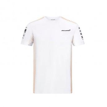 Mclaren Honda pánské tričko White F1 Team 2021