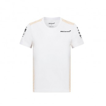 Mclaren Honda dětské tričko White F1 Team 2021