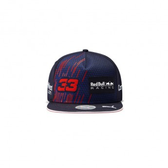 Red Bull Racing čepice flat kšiltovka Max Verstappen F1 Team 2021