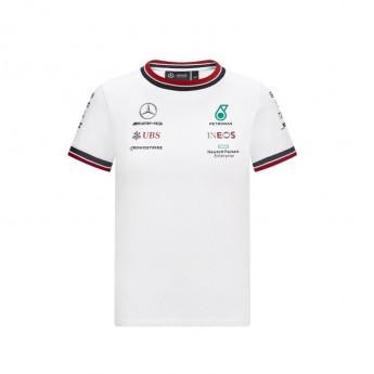 Mercedes AMG Petronas dětské tričko White F1 Team 2021