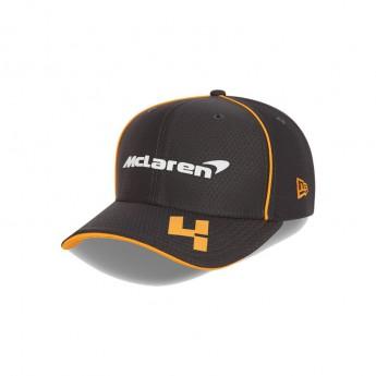 Mclaren Honda dětská čepice baseballová kšiltovka Antracit Norris F1 Team 2021