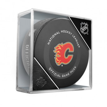 Calgary Flames puk Official Game Puck 2019-2020 x
