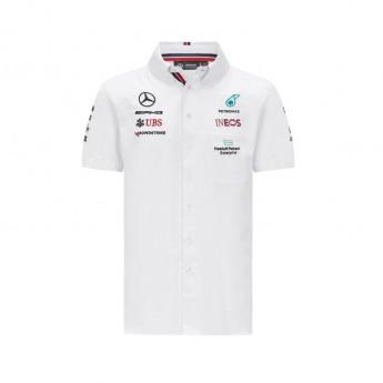 Mercedes AMG Petronas pánská košile White F1 Team 2021