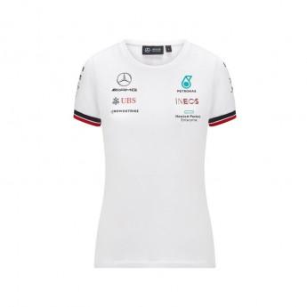 Mercedes AMG Petronas dámské tričko White F1 Team 2021