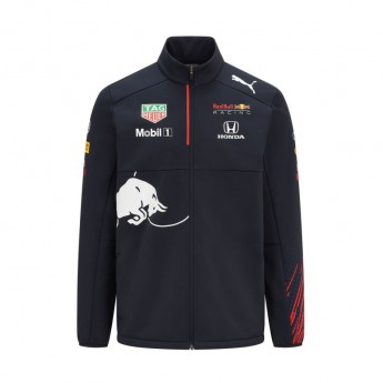 Red Bull Racing pánská bunda Teamwear Softshell F1 Team 2021