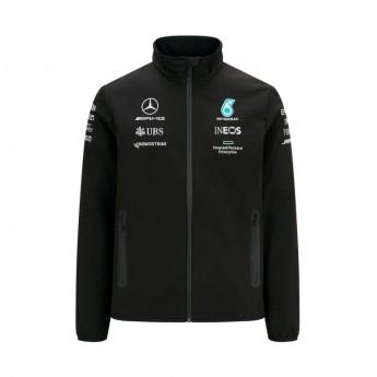 Mercedes AMG Petronas pánská bunda Softshell Black F1 Team 2021