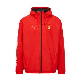 Ferrari pánská bunda s kapucí Rain PUMA red F1 Team 2021