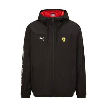 Ferrari pánská bunda s kapucí Rain PUMA black F1 Team 2021