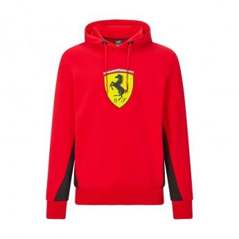 Ferrari pánská mikina s kapucí PUMA Hoodie red F1 Team 2021