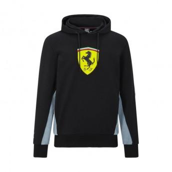 Ferrari pánská mikina s kapucí Puma Hoodie black F1 Team 2021