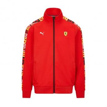 Ferrari pánská mikina PUMA Track red F1 Team 2021