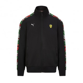 Ferrari pánská mikina PUMA Track black F1 Team 2021
