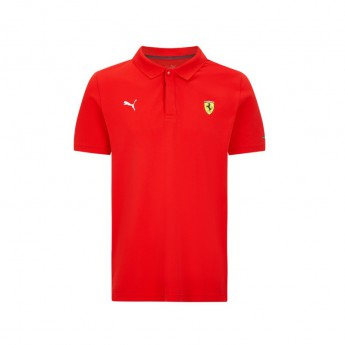 Ferrari pánské polo tričko Classic PUMA Red F1 Team 2021