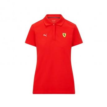 Ferrari dámské polo tričko Classic PUMA Red F1 Team 2021
