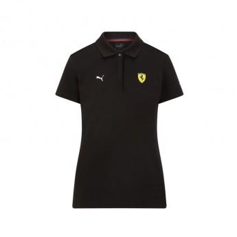 Ferrari dámské polo tričko Classic PUMA Black F1 Team 2021