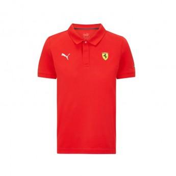 Ferrari dětské polo tričko Classic PUMA Red F1 Team 2021