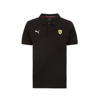 Ferrari dětské polo tričko Classic PUMA Black F1 Team 2021