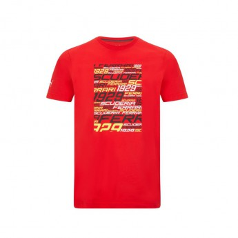 Ferrari pánské tričko Graphic PUMA Red F1 Team 2021