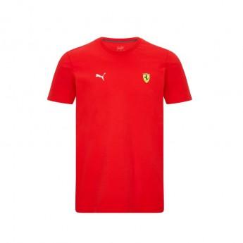 Ferrari pánské tričko Small Shield Red F1 Team 2021