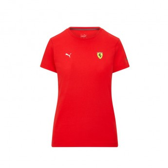 Ferrari pánské tričko Small Shield PUMA Red F1 Team 2021