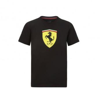 Ferrari dětské tričko Classic PUMA Black F1 Team 2021