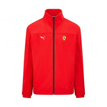 Ferrari pánská bunda Puma Logo Softshell red F1 Team 2021