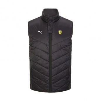Ferrari pánská vesta Padded Gilet PUMA Black F1 Team 2021