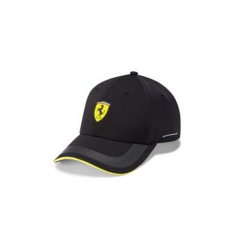 Ferrari čepice baseballová kšiltovka PUMA Tech Black F1 Team 2021