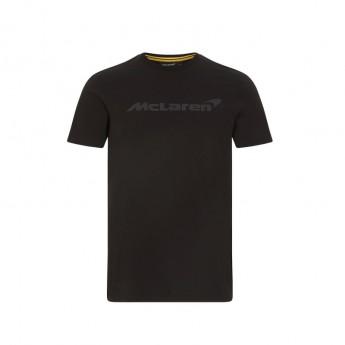 Mclaren Honda pánské tričko Stealth Logo Black F1 Team 2021