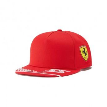 Ferrari čepice flat kšiltovka Carlos Sainz F1 Team 2021