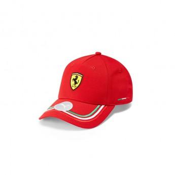 Ferrari čepice baseballová kšiltovka PUMA Italian red F1 Team 2021