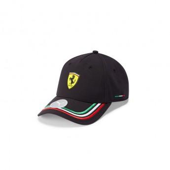 Ferrari čepice baseballová kšiltovka PUMA Italian Black F1 Team 2021
