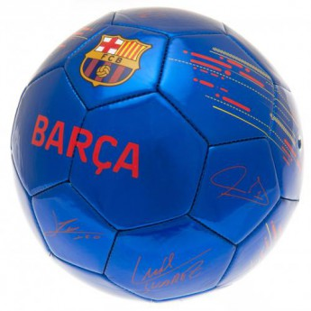 FC Barcelona fotbalový míč Football Signature BL - size 5