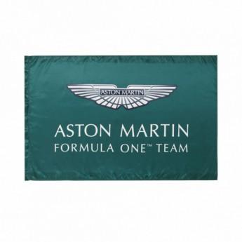 Aston Martin vlajka green F1 Team 2021