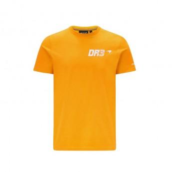 Mclaren Honda pánské tričko DR3 AUS Orange F1 Team 2021