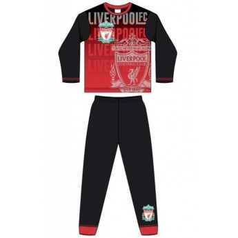 FC Liverpool dětské pyžamo subli crest