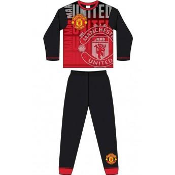 Manchester United dětské pyžamo subli crest