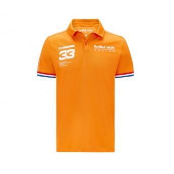 Red Bull Racing pánské polo tričko Verstappen Orange F1 Team 2021